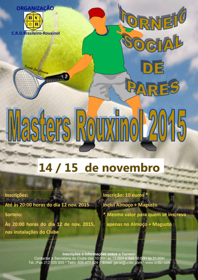 Master Rouxinol 2015