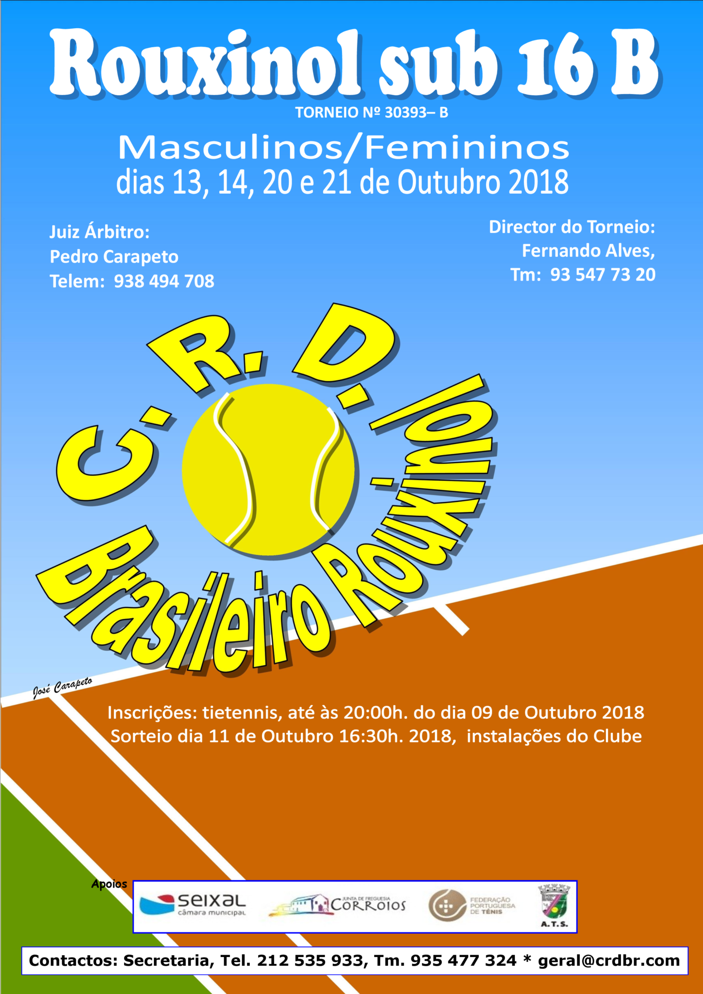 Torneio B Rouxinol sub /16